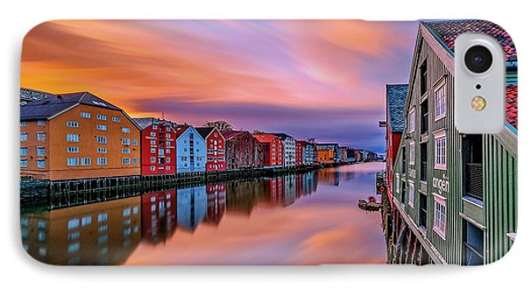 The Beautiful Trondheim IPhone Case