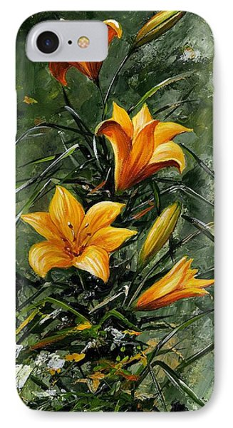 The Beauty Flower 06 IPhone Case by Emerico Imre Toth