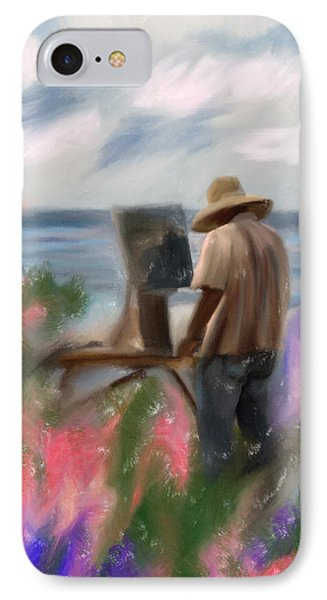 The Beauty Of A Painter Phone Case by Angela A Stanton