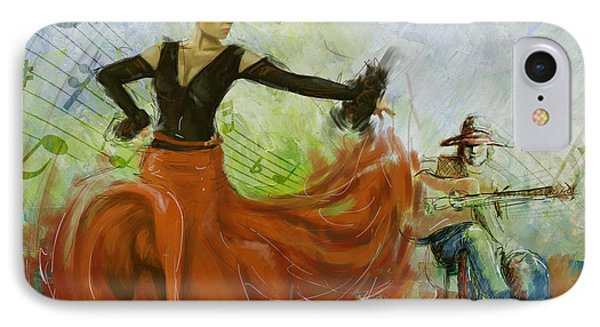 The Beauty Of Music And Dance Phone Case by Corporate Art Task Force
