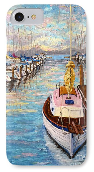 The Beauty Of Sausalito  IPhone Case by Francesca Kee