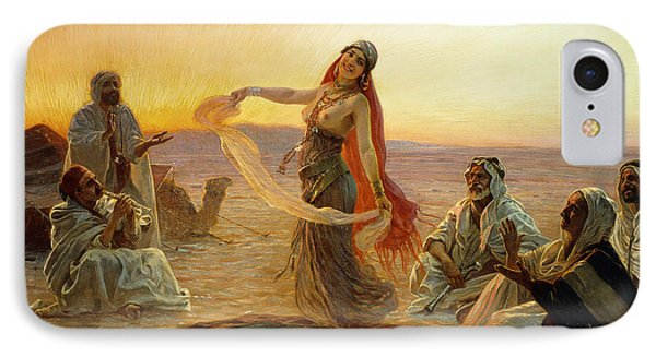 The Bedouin Dancer Phone Case by Otto Pilny
