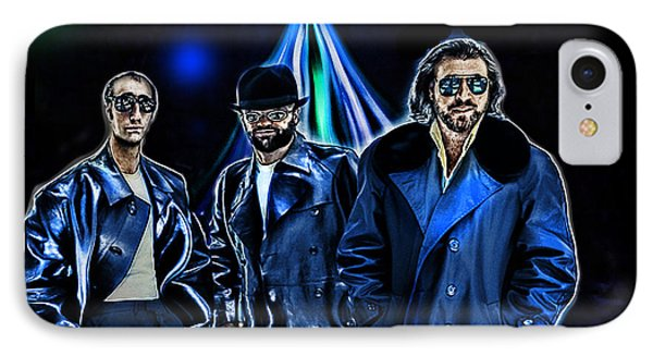 The Bee Gees Phone Case by Tyler Robbins