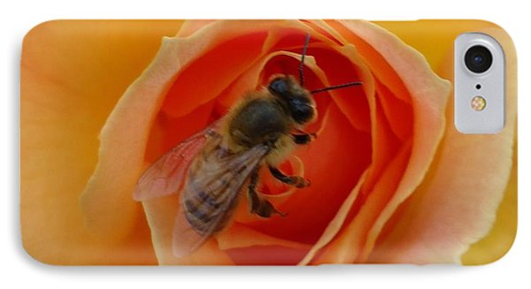 The Beekeeper IPhone Case by Leslie Manley
