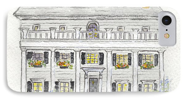 The Beekman Arms In Rhinebeck IPhone Case by AFineLyne