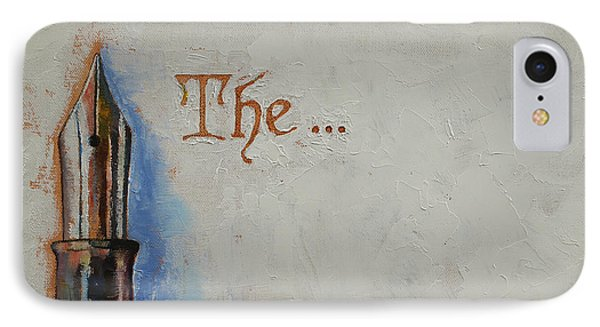The Beginning IPhone Case by Michael Creese
