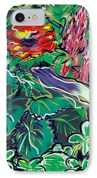 The Begonia IPhone Case by Jean Pacheco Ravinski