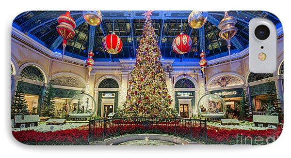 The Bellagio Christmas Tree IPhone Case by Aloha Art