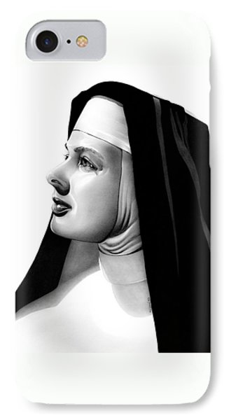 The Bell's Of St. Mary's Sister Mary Benedict Phone Case by Fred Larucci