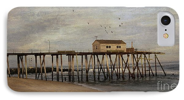 IPhone Case featuring the photograph The Belmar Fishing Club Pier by Debra Fedchin