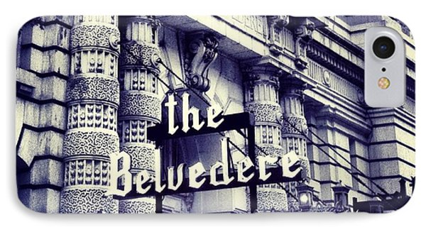 The Belvedere IPhone Case by Toni Martsoukos