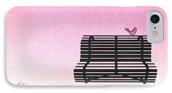 The Bench Phone Case by Daniele Zambardi
