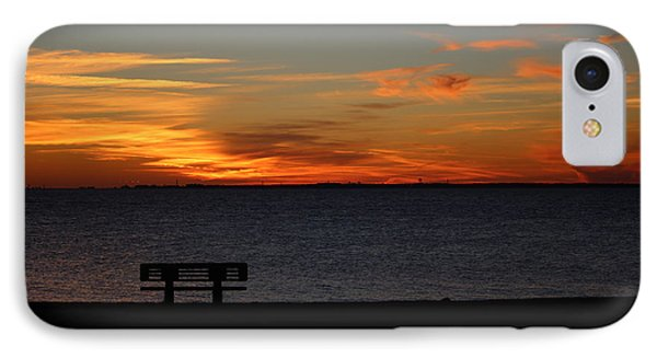 IPhone Case featuring the photograph The Bench by Faith Williams