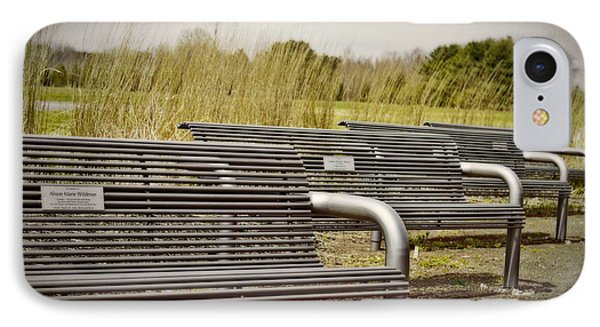 The Benches Phone Case by Tom Gari Gallery-Three-Photography