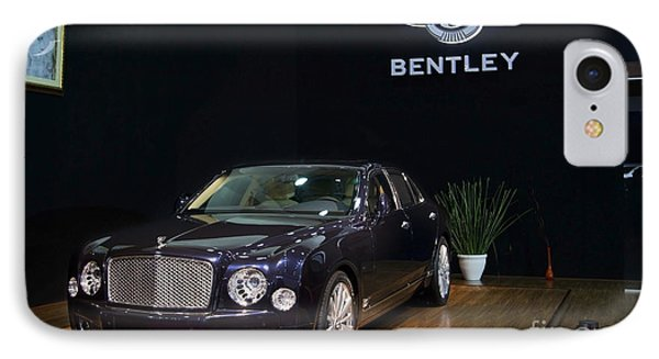 IPhone Case featuring the photograph The Bentley Mulsanne Mulliner by Mohamed Elkhamisy