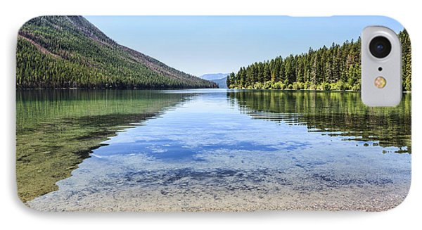 The Best Beach In Glacier National Park Phone Case by Scotts Scapes