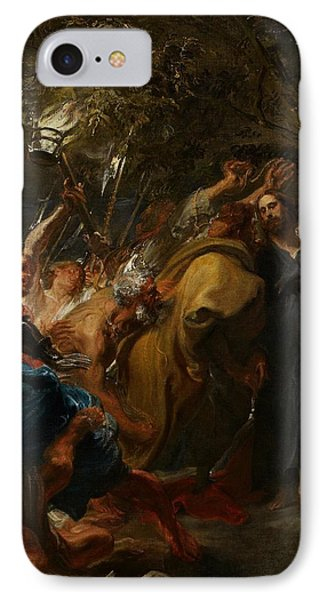 The Betrayal Of Christ Phone Case by Anthony Van Dyck
