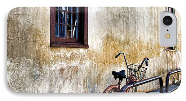 The Bicycle Phone Case by Deborah Benoit