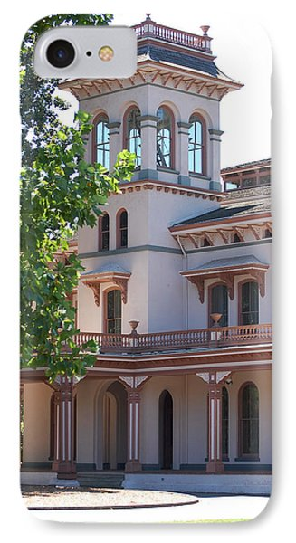 The Bidwell Mansion IPhone Case