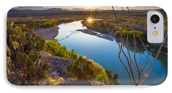 The Big Bend IPhone Case