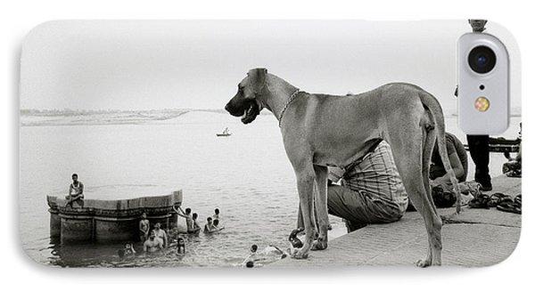 The Big Dog IPhone Case by Shaun Higson