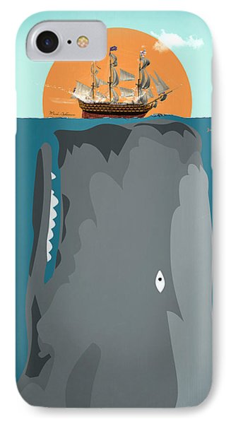 The Big Fish IPhone Case by Mark Ashkenazi
