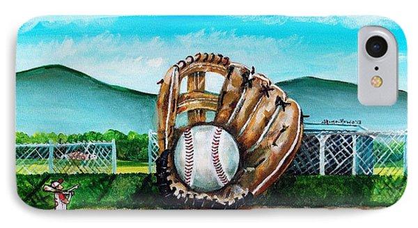 The Big Leagues Phone Case by Shana Rowe Jackson