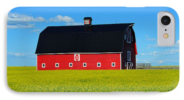 The Big Red Barn Phone Case by Bob Christopher