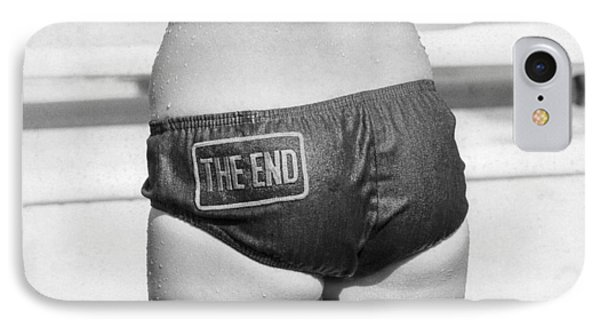 The Bikini End IPhone Case by Underwood Archives