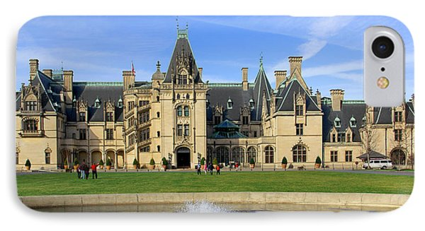 The Biltmore Estate - Asheville North Carolina IPhone Case by Mike McGlothlen