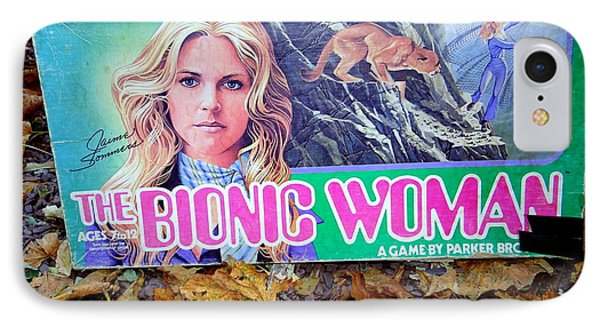 The Bionic Woman IPhone Case