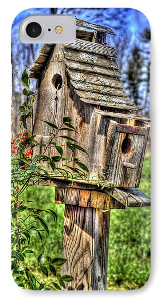 The Bird House IPhone Case by Craig T Burgwardt