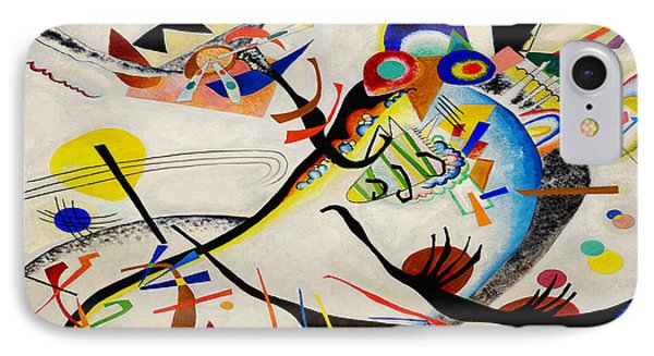 The Bird IPhone Case by Wassily Kandinsky
