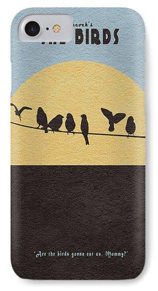 The Birds IPhone Case by Ayse Deniz
