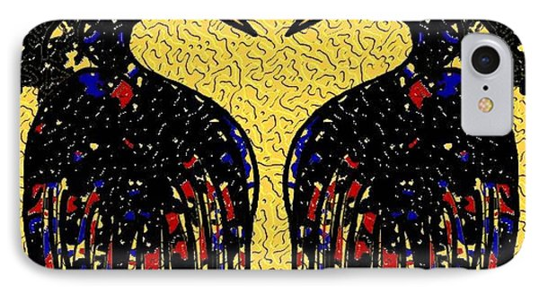 The Birds IPhone Case by Vickie G Buccini