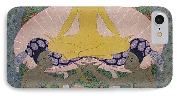 The Birth Of Venus IPhone Case by Georges Barbier