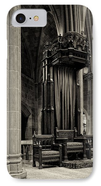 The Bishops Chair Phone Case by Dick Wood
