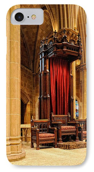 The Bishops Chair II Phone Case by Dick Wood