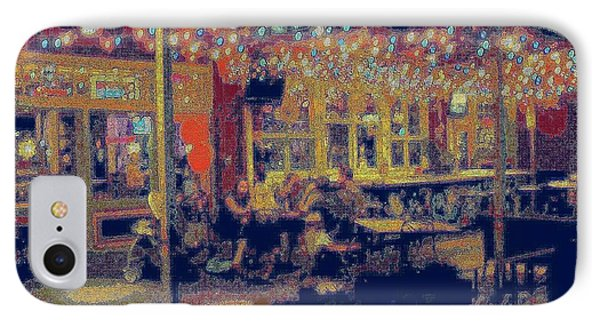 The Bistro Patio IPhone Case by ARTography by Pamela Smale Williams