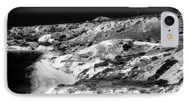 The Black Coast IPhone Case by John Rizzuto