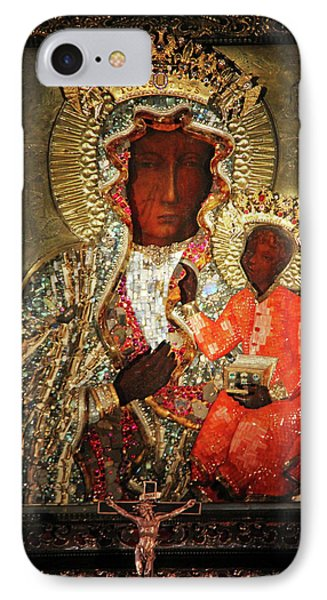 The Black Madonna IPhone Case