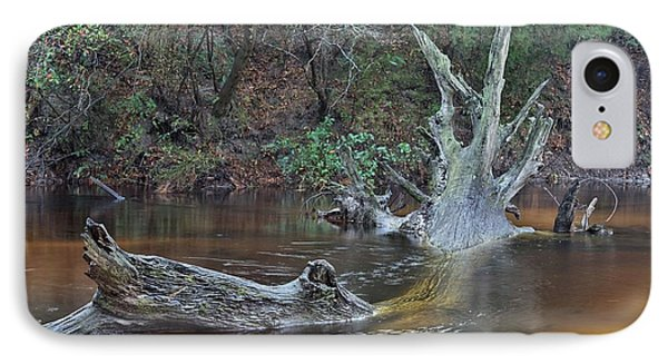 The Black Water River IPhone Case by JC Findley