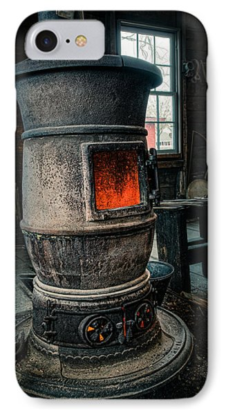 The Blacksmiths Furnace - Industrial Phone Case by Gary Heller