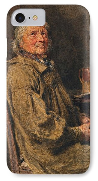 The Blessing Phone Case by William Henry Hunt