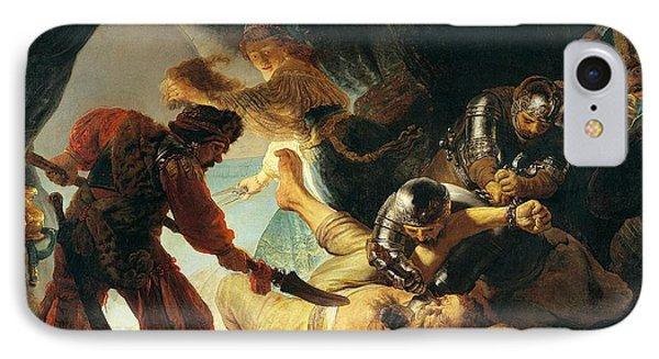 The Blinding Of Samson IPhone Case by Rembrandt van Rijn