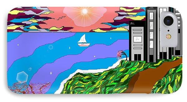 The Bliss Resort Phone Case by Lewanda Laboy