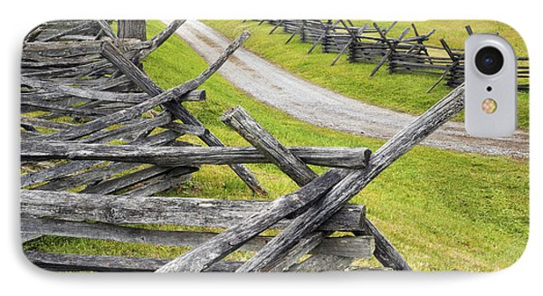 The Bloody Lane At Antietam IPhone Case by Paul W Faust -  Impressions of Light