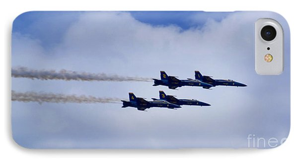 The Blue Angels Phone Case by Benjamin Reed