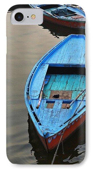 The Blue Boat Phone Case by Kim Bemis