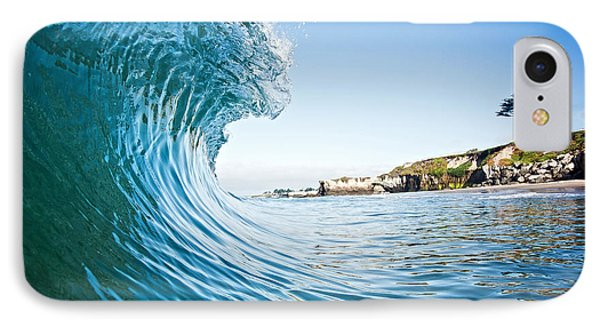 IPhone Case featuring the photograph The Blue Curl by Paul Topp
